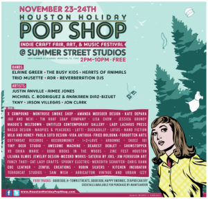 Houston Holiday Pop Shop information